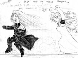 фанарт к Final Fantasy 7