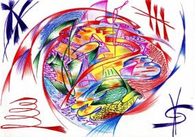 Нинель рисунок Татьяны Масленниковой