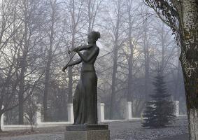 скрипачка из тумана