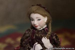 авторская кукла Светланы Смирновой