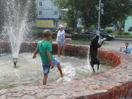 Омск - лето