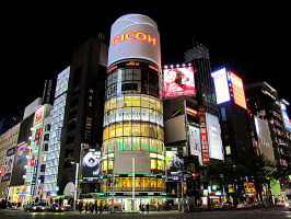 Район Гинза - Манхеттен города Токио! (добавлена краткая информация)