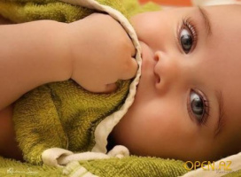Дитя в зелёном