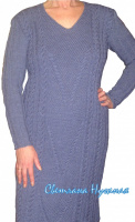 Платье цвета джинс