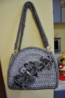сумочка черненное серебро