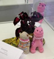 Куколки из носочков. Автор Попова Елена