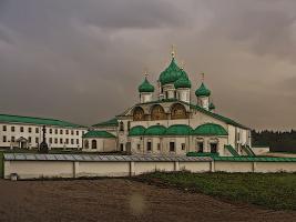 Храм Преображения Господня Свирского монастыря