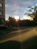 Лучик последних летних дней