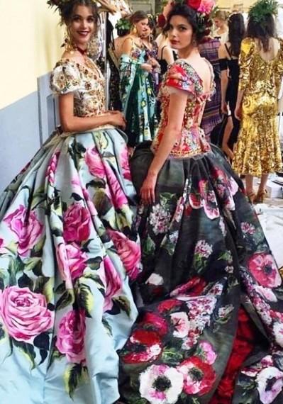 dec19e74cfe6 Dolce   Gabbana Haute Couture осень-зима 2016-2017 -- безумно ярко, ...
