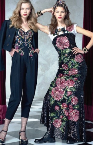 d2ab5dd3d46d Dolce   Gabbana весна-лето 2017 (Lookbook) — яркая радость жизни в стиле ...