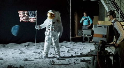 Бумажный космос НАСА. Полёт на Луну.