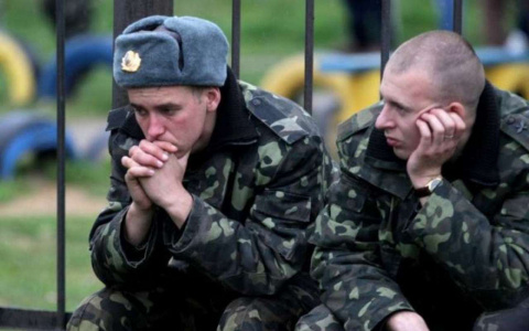 О брожении и разложении в украинской армии