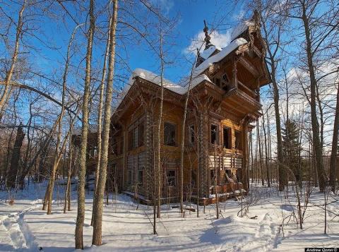 Заброшенные терема Костромск…