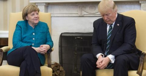 Трамп и Меркель объединились ради Украины. Руслан Осташко