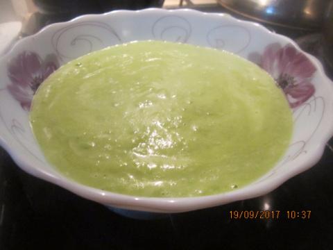 Суп-пюре из зеленого горошка+ Крем Суп из Картофеля