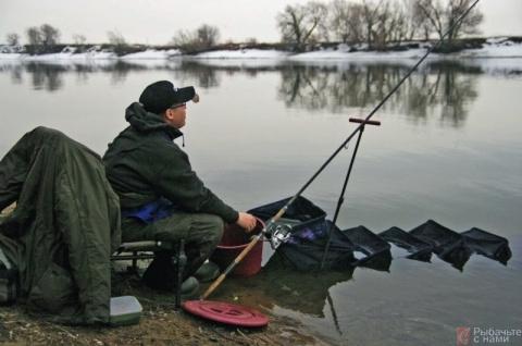 Фидерная ловля весной