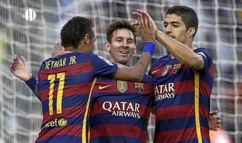 Трио MSN забило 300 голов в …