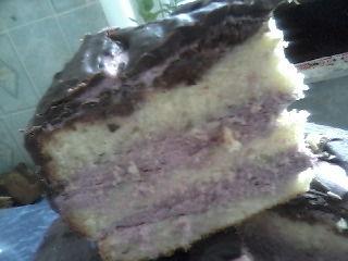 Торт «Смородиновое наспаждение»