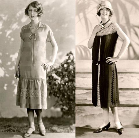 Ретро: мода 20-х годов
