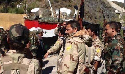 SANA: сирийские войска насту…