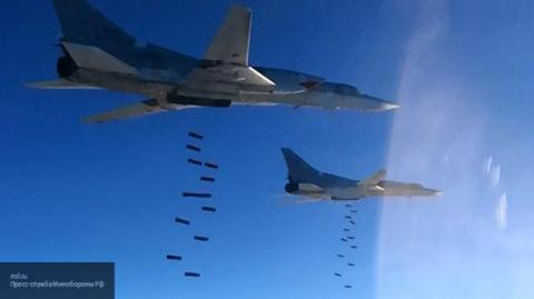 Российская авиация «прикрыла…