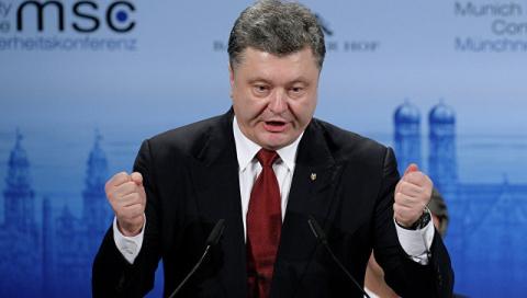 Весь мир устал от мелодраматизма Порошенко