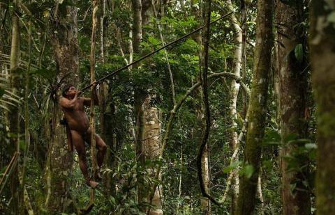Племя Амазонки, мужчины кото…