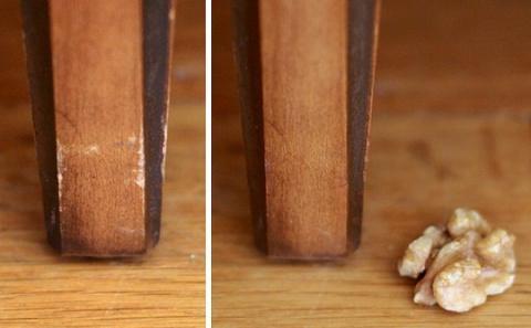 Убираем царапины на мебели подручными средствами