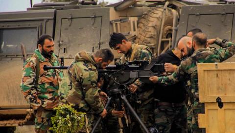 Сирийцы подорвали боевиков п…