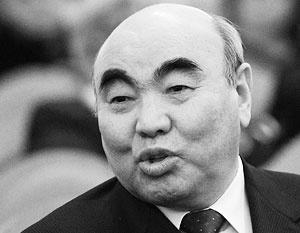 Акаев: Отказ пустить америка…