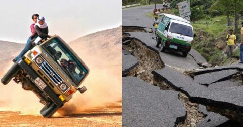 Эти страны - кошмар для водителя!