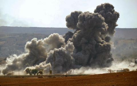 ВВС Сирии разбомбили позиции…