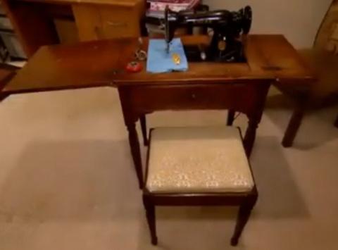 Находка в швейной машинке подарила миру произведение искусства