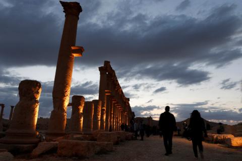 Пальмира вновь полностью во …