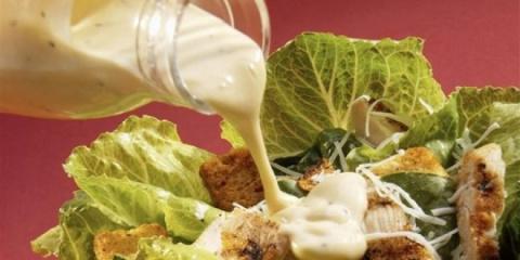 Главное в салате — это… соус…