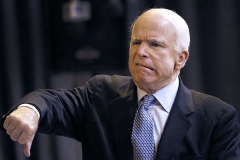 Маккейн против «перезагрузки» отношений РФ и США