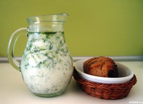 Самый вкусный летний суп! «Таратор»