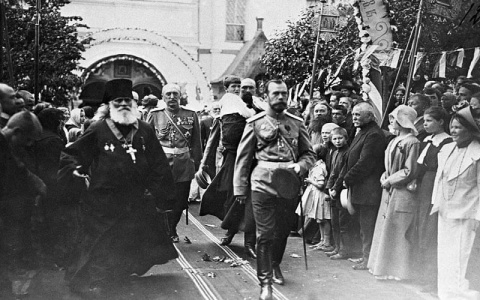 Николай II и церковь