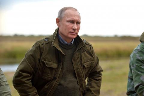 Путин в образе мачо покоряет западное медиапространство