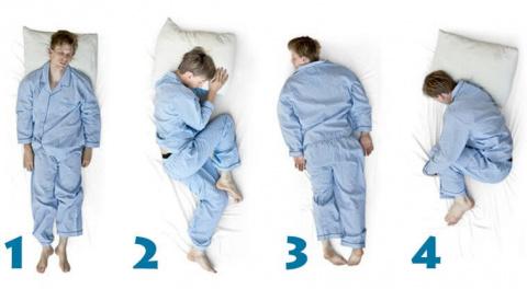 Позы во время сна и здоровье…