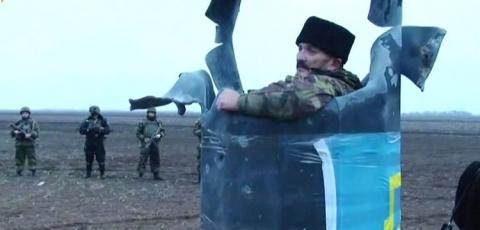 Грузовик с российскими солда…