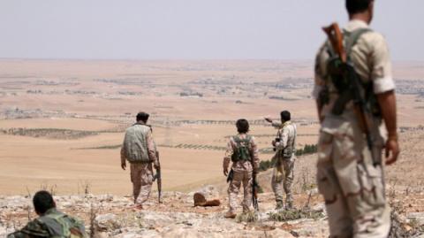 Сирийская армия выбила ДАИШ …
