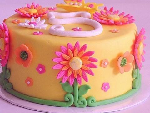 Кулинарная сахарная мастика для украшений и цветов