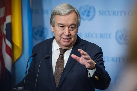 Генсек ООН прокомментировал ситуацию с признанием Крыма российским