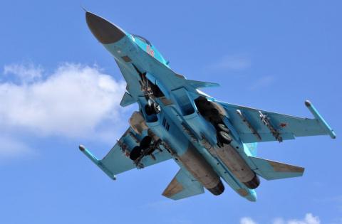 Яркие кадры: Су-34 ВКС Росси…