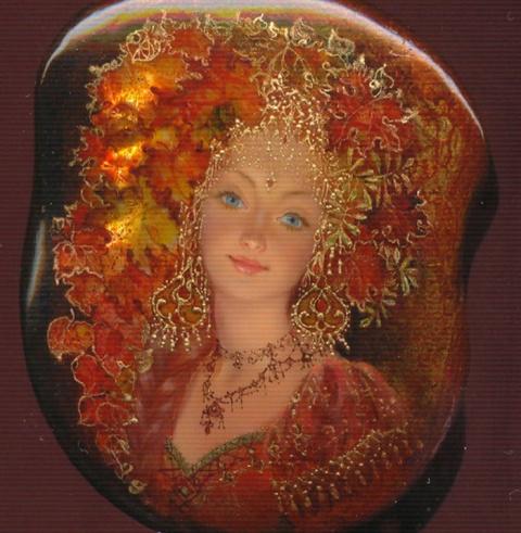 Лаковые миниатюры Юлии Даниловой