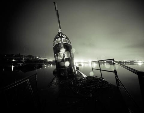 Заброшенная подводная лодка