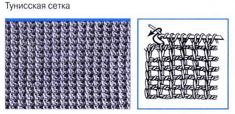 Урок №1 - тунисское вязание