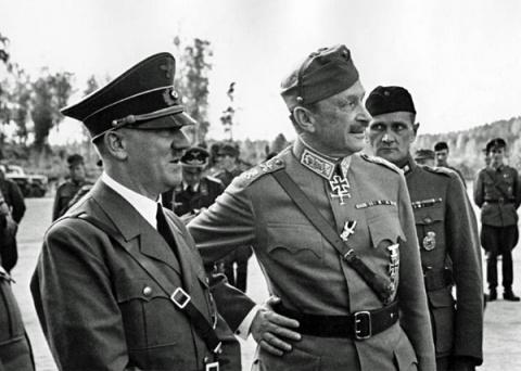 В Петербурге 6 декабря вновь установят доску союзнику Гитлера Маннергейму