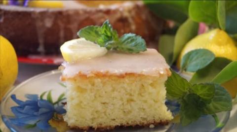 Самый вкусный лимонный пирог